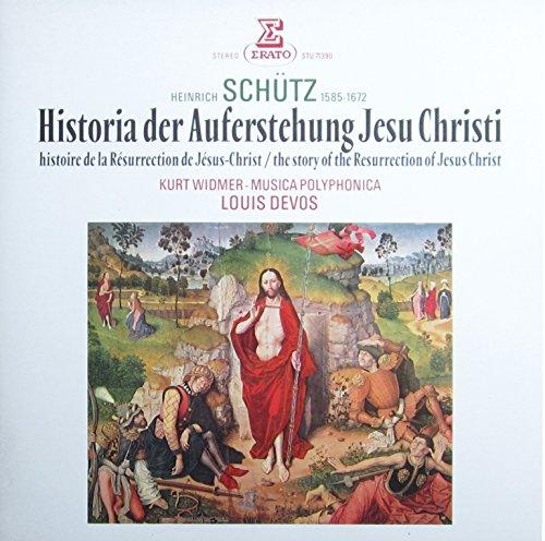 Schütz: Historia der Auferstehung Jesu Christi / The Story of the Resurrection of Jesus Christ [Vinyl LP] [Schallplatte]