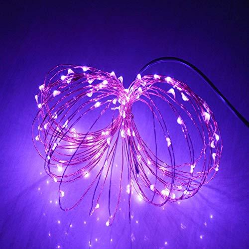 Lichterkette,FeiliandaJJ 20M 200pcs Wasserdichte Flexibel Kupferschnur LED Licht Hochzeit Party Halloween Xmas Innen/Außen Haus Deko String Lights ()