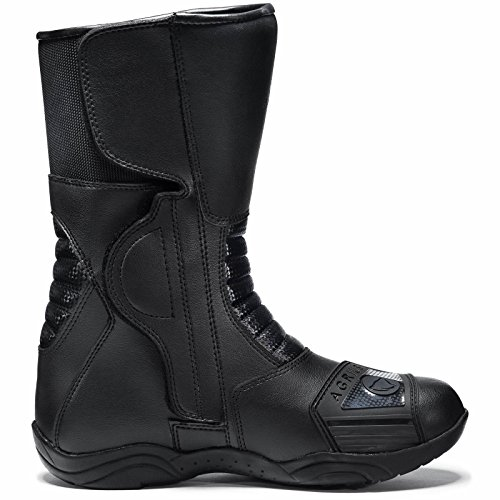 Agrius Bravo Motorcycle Boots 43 Black (UK 9) - 3