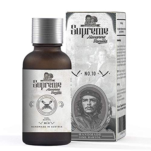 Bartöl Tabak Vanille Duft Bartpflege Männer Beard Oil von Bartstoppel© Supreme