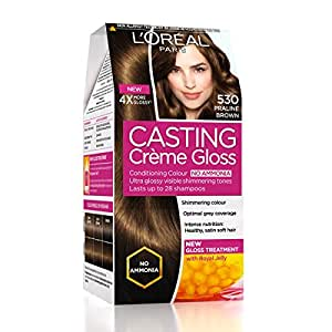 L'Oreal Paris Casting Creme Gloss, Praline 530, 87.5g+72ml