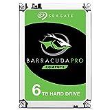 Seagate Barracuda Pro - Disco duro interno de 6 TB (3,5', 7200 RPM, 256 MB de caché, SATA 6...