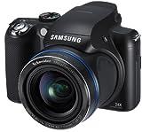 Samsung WB5000 Digitalkamera (12 Megapixel, 26mm Weitwinkel, 24x optischer Zoom, 7,6 cm (3 Zoll) TFT LCD, USB 2.0 (Hi-Speed), Duale Bildstabilisation) schwarz