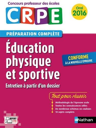Education physique et sportive - Prparation  l'preuve orale