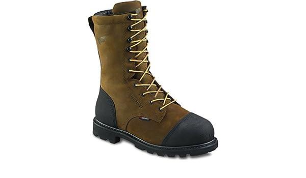 10-inch Logger Boots Metatarsal Guard