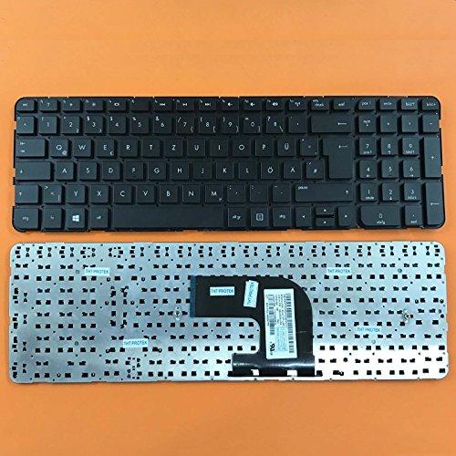 kompatibel mit HP Pavilion DV6T-7000, DV6-7300 Tastatur - Farbe: Schwarz - ohne Rahmen - Deutsches Tastaturlayout