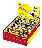 Tinte zum Nachfüllen - STABILO BOSS ORIGINAL Refill - 20er Pack - mit 9 verschiedenen Farben