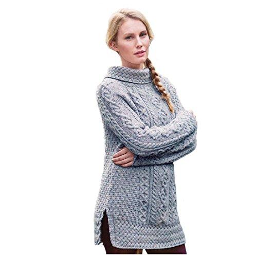 Carraig Donn - Pull - Femme Beige foncé