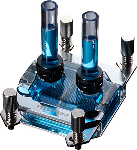 Phanteks Waterblock CPU pour LED RVB Base en cuivre nickelé Acrylique Coque Chrome - Ph-c350 a Cr01 7
