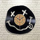 Makeyong Odora di Spirito Adolescenziale Orologio da Parete in Vinile Art Gift Room Modern Home Record Decorazione Vintage