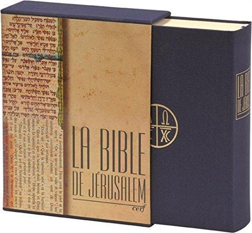 La Bible de Jérusalem, édition Major en toile bleue