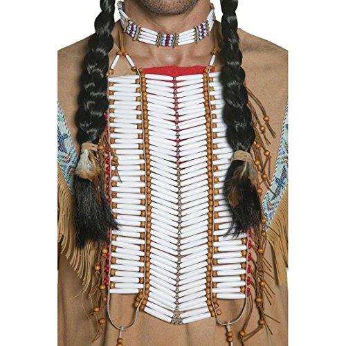Indianer Schmuck Indianerschmuck Indianer Halsschmuck Indianer Brustplatte Kostüm Zubehör (Kostüm Brustplatte)