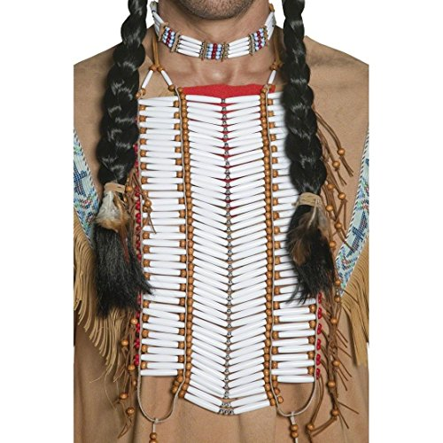 Kostüm Brustplatte - R.H.Smith & Sons Indianer Schmuck Indianerschmuck Indianer Halsschmuck Indianer Brustplatte Kostüm Zubehör