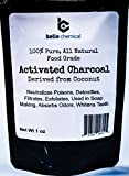 Kosher Orgánica coco carbón activado polvo-de calidad alimentaria-dientes...