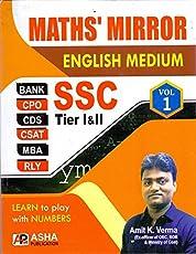 Maths' Mirror SSC Tier I & II Vol. 1st