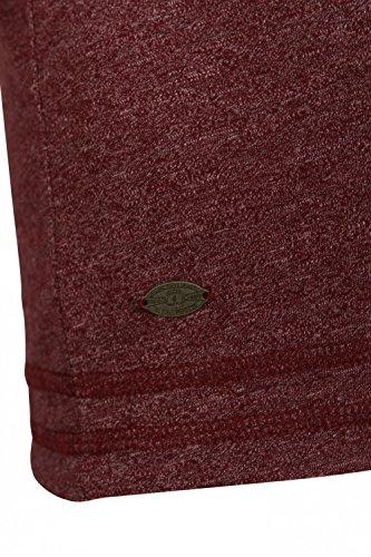 Tokyo Laundry Herren Langarmshirt rot rot Small Oxblood