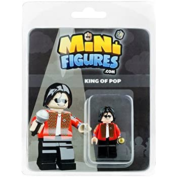 FREDDIE MERCURY minifigure KEYRING Queen Rock Band Custom Mini Figure