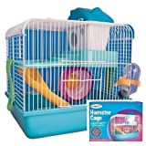 Cage pour hamster.