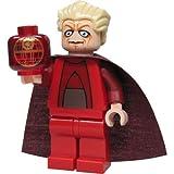 Lego Star Wars Figur Kanzler Obersten mit Schicht Lange und Hologramm der Todesstern