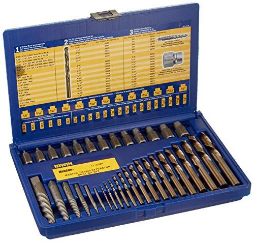 35 Stueck Stamm ScrewExtractor Set mit Kobalt-Bits -