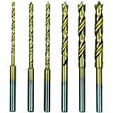 Proxxon 28876avec broches 1,5–4mm manche de centrage 3mm, forets hélicoïdaux en acier rapide 6pièces