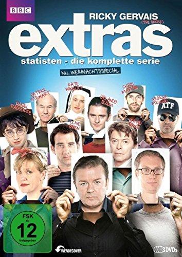 Extras: Statisten - Die komplette Serie, inkl. Weihnachtsspecial [3 DVDs]