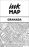 Granada Inkmap - maps for eReaders, sightseeing, museums, going out, hotels (English) (English Edition)
