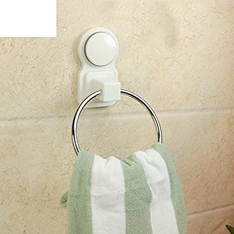 Sucker Handtuchhalter/Badezimmer/Geschirrtuch hängenden Ring/Super starke Saugnapf Handtuchhalter