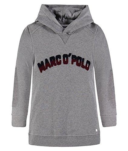 Marc O' Polo Kids Jungen 1/1 Arm mit Kapuze Sweatshirt, Pandora Grau Melange 8407, 152