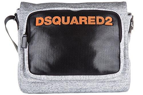 Dsquared2 borsa uomo a tracolla borsello originale antony grigio