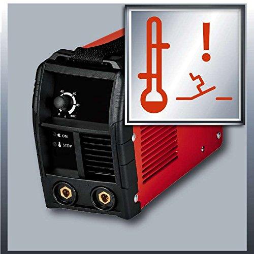 Einhell Inverter Schweißgerät TC-IW 110 (85 V, inkl. Masseklemme, Elektrodenhalter, Ventilatorkühlung, inkl. Tragegurt) - 3