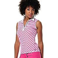MDC Meryl Print Polo Camiseta Flamingo 38