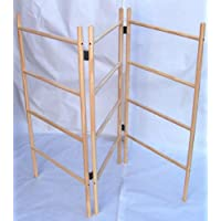 Wooden clothes airer - 3 panel