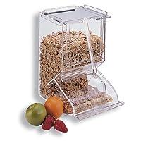 Distributore trasparente acrilico per collazioni. Ideale per i buffet. Pezzi: 1
