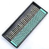 3 mm Schleifkopf-Schaft, Diamantbeschichtet, Rotary Frässet für Dremel Rotary Tool Diamant-Frässet für Schmuck, Glas, Stein, Keramik, Edelsteine