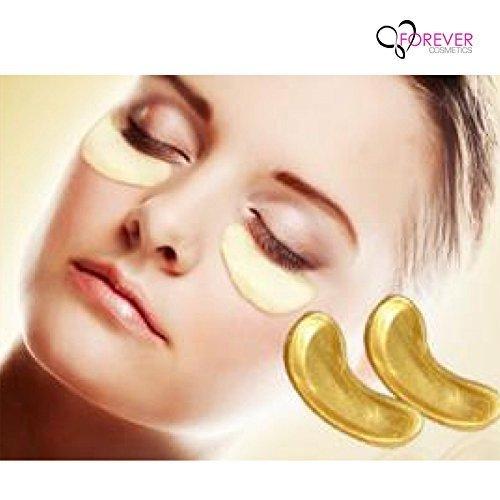 llagen Augenpads - Die Feuchtigkeit spendende Anti Falten Augenmaske gegen Augenringe & Fältchen Anti Aging (10) (Augenmasken)