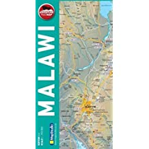 Malawi 1 : 750 000: Adventure Road Map