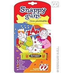 Idea Regalo - WIDMANN- Snappy Gum Cicca Picchiadito Scherzo di Carnevale, Verde, One Size, 4956S