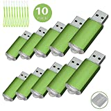 10 Pack USB-Flash Drive USB 2.0 Memory Stick Memory Drive Pen Drive grün 1 GB