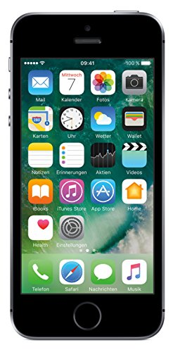 Image of Apple iPhone SE ( (10,2 cm (4 Zoll) Touch-Display, 16 GB, iOS 10) Space Grau