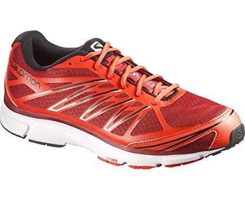 Salomon X-tour 2, Chaussures de Running Compétition homme flea/tomato red/bleck