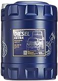 MANNOL Diesel Extra 10W-40 API CH-4/SL Motorenöl, 10 Liter