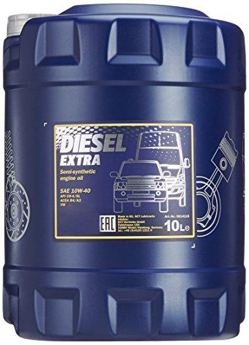 Preisvergleich Produktbild MANNOL Diesel Extra 10W-40 API CH-4/SL Motorenöl, 10 Liter