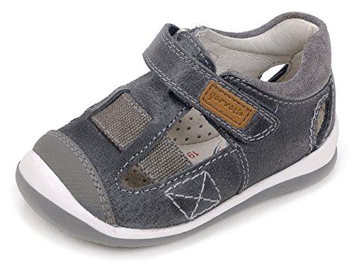 Garvalín 172327, Zapatillas para Bebés, Azul (BLU/Tundra), 19 EU