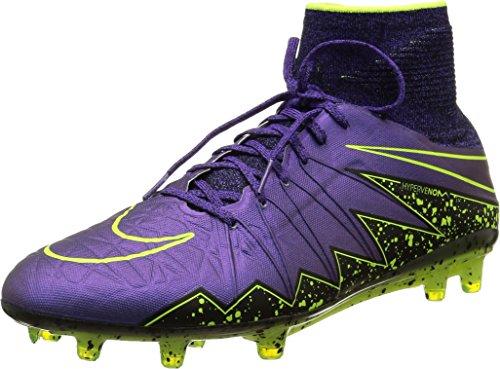 Nike Hypervenom Phantom Ii Fg, Scarpe sportive, Uomo, Multicolore (Hyper Grape/Hypr Grape-Blk-Vlt), 44