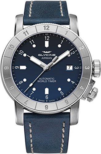 Glycine Airman 42 Double Twelve orologi uomo GL0062