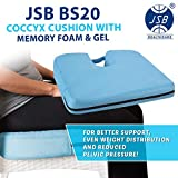 JSB Bs20 Coccyx Seat Cushion with Gel Support for Chair