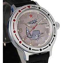 Vostok # 921402KOMANDIRSKIE mecánico automático ruso muñeca reloj 2416b