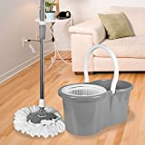 Best Spin Mops - ASAB 360° Spinning Floor Mop and Bucket Set Review