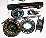 Leeda Profil LA Cassette Fly Reel With Two Spare Cassette Spools**2 Sizes**5/6 or